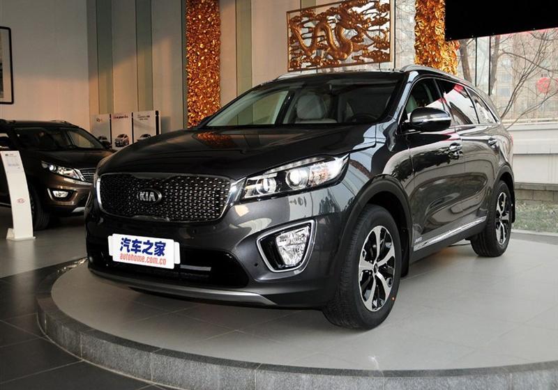 2015款索兰托L 2.4L GDI 汽油4WD旗舰版 7座