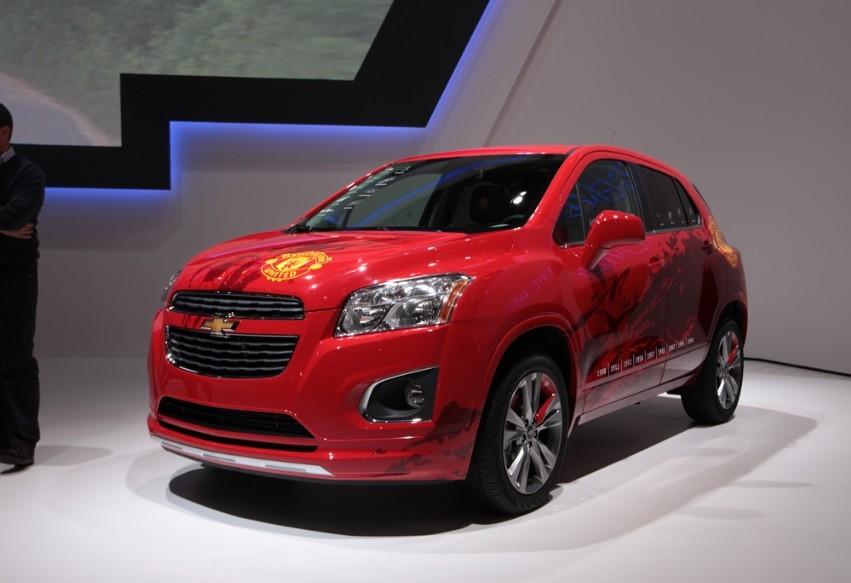 雪佛兰Trax创酷小型SUV 将在北京车展上市
