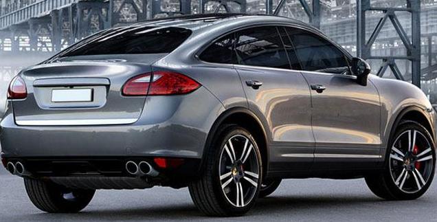 卡宴将推Coupe车型 竞争宝马X6