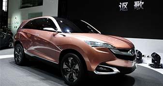 价格更亲民 讴歌首款国产SUV有望于北京车展亮相