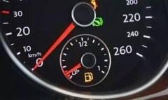 """当油表显示为""""0""""时 车子还能跑多少公里"""
