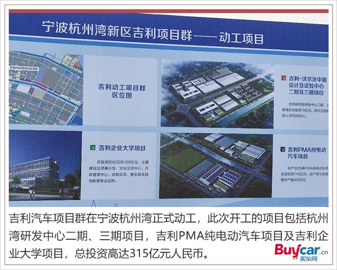 吉利杭州湾研发中心,新能源技术