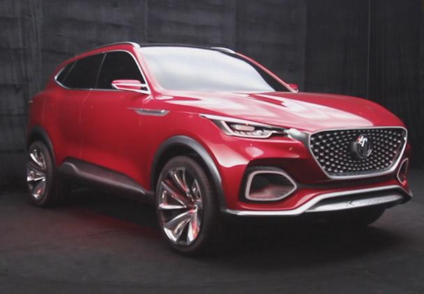 名爵全新SUV概念车X-motion 北京车展正式发布