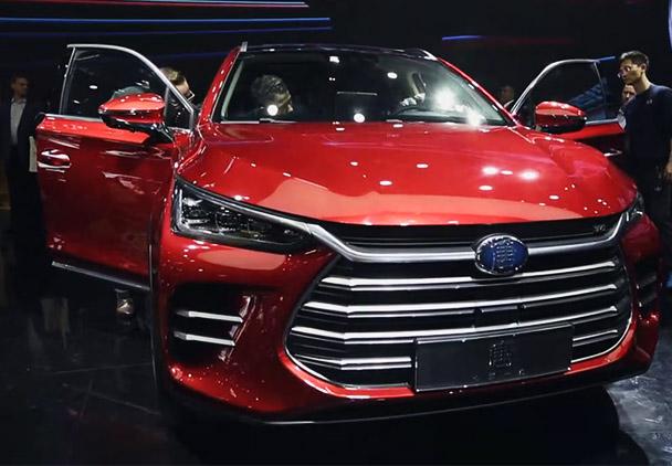 2018北京车展 全新比亚迪唐正式开启预售