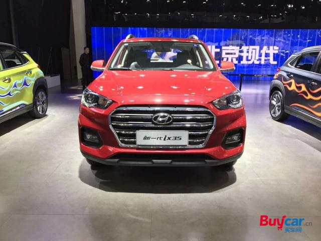 2018成都车展 | 北京现代ix35 2.0L车型亮相本次车展