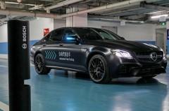 戴姆勒和博世首次在华展示自动代客泊车技术