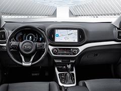 起亚KX3 EV内饰官图发布 与燃油车基本一致