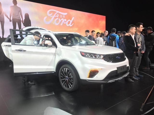新车,全新福特Territory领界亮相