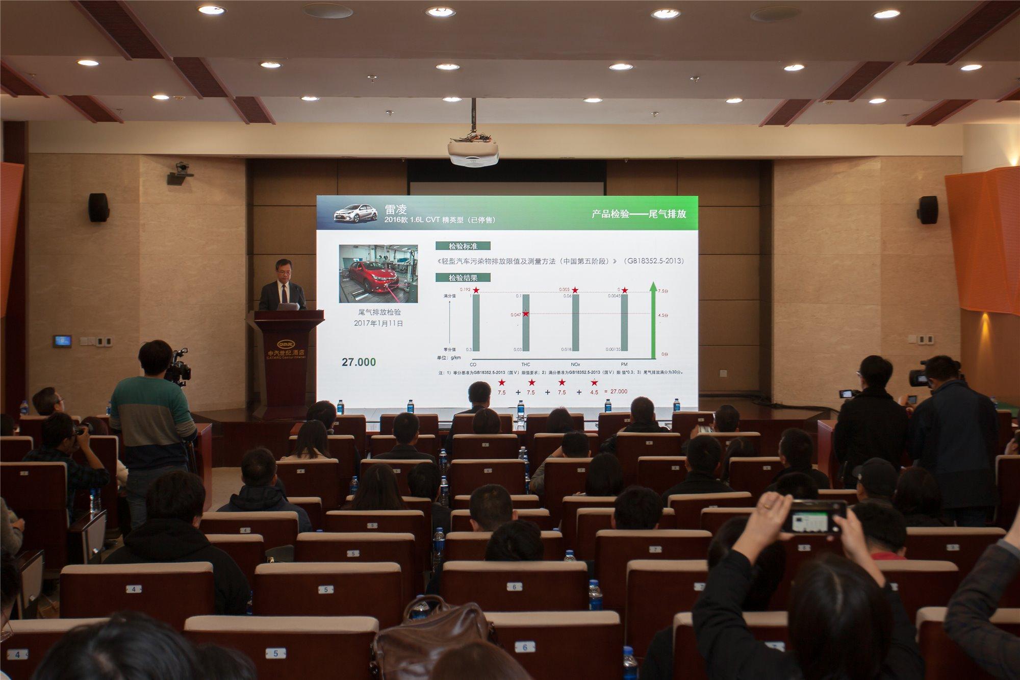 中国生态汽车抽车评价结果首次发布