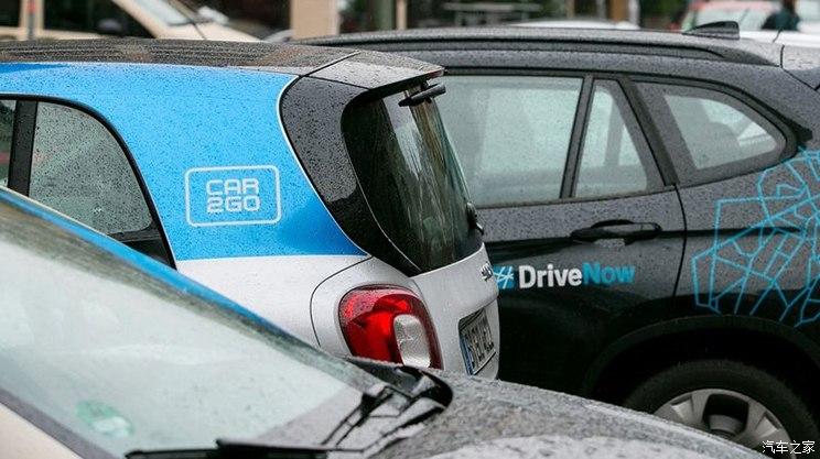 已批准 宝马/戴姆勒将合并汽车共享业务