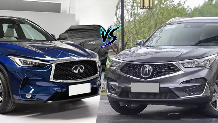 二线豪华SUV如何选 讴歌全新RDX对比英菲尼迪全新QX50