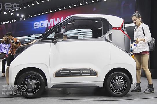 宝骏E200微型电动车航里程210km