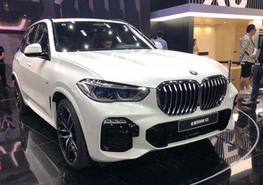 亮相   全新一代宝马X5 正式亮相广州车展