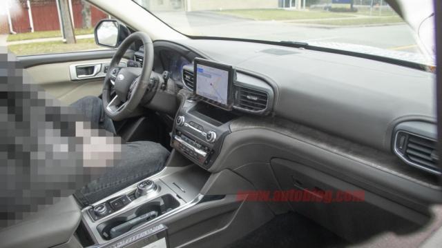 新车,全新的设计语言,福特探险者谍照