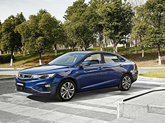 吉利帝豪GL新增两款车型上市 售价10.08—11.08万元