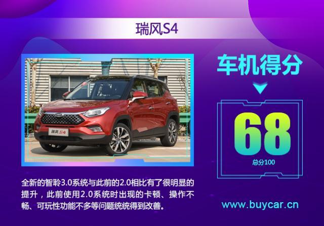 不到10万元的SUV,江淮瑞风S4车机测试