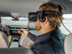 长途旅行不再乏味 奥迪发布车内VR娱乐系统