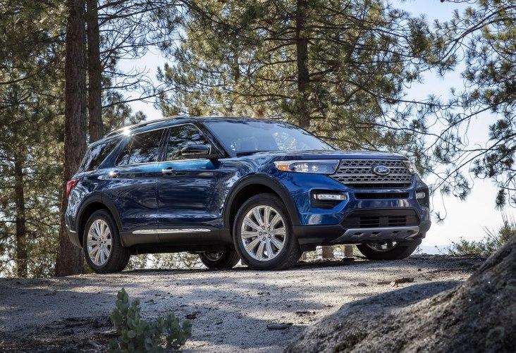 全新福特探险者官图发布 将于北美车展首发