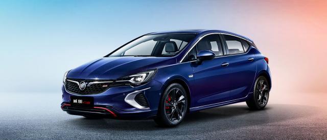 2019款别克威朗广告和GS两厢新增上市车型蓝脆香米流光变图片