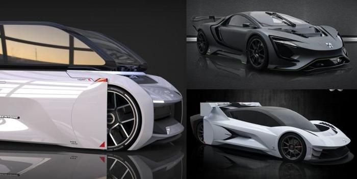 Flymove展示电池交换系统及三款Dianchè电动车型