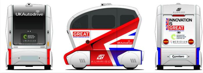 Aurrigo与Comet Mobility Experience合作自动驾驶pod 提供按需移动出行服务