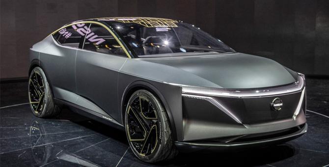 2019北美车展|续航可达611km 日产IMs纯电动概念车亮相