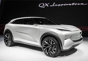 2019北美车展   英菲尼迪QX Inspiration概念车亮相