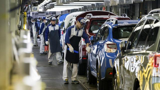 斯巴鲁暂停日本国内工厂生产