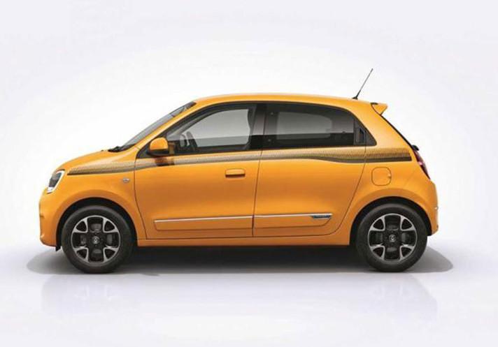 中期改款的微型车 雷诺新款Twingo官图发布
