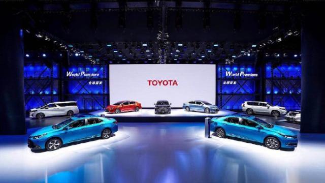 一汽丰田2019年目标销量锁定74.5万台