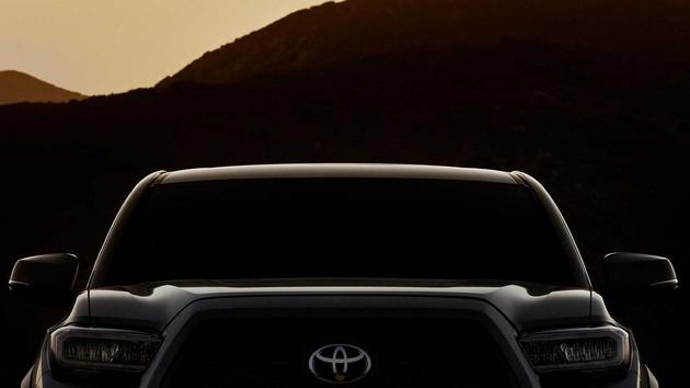 前脸有所微调 丰田Tacoma新款车型将于2019年芝加哥车展首发亮相