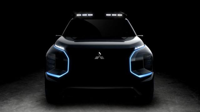 三菱发布概念SUV预告图