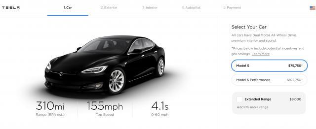 售价降低 特斯拉调整Model S和Model X产品结构