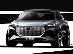 加速电气化 奥迪发布Q4 e-tron概念设计图