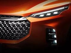 上汽大通全新中型SUV D60将于2月28日正式亮相