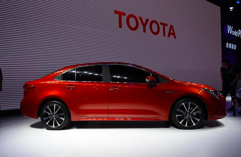 全新雷凌将于今年上海车展开启预售