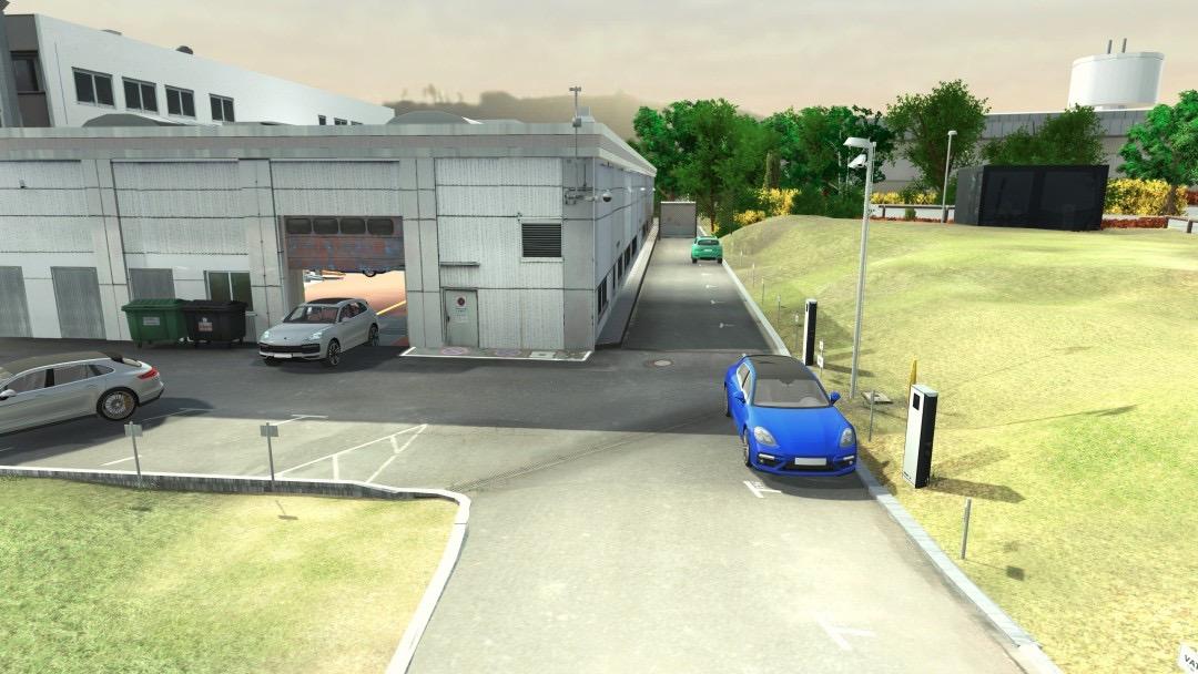 保时捷开启工厂自动驾驶测试