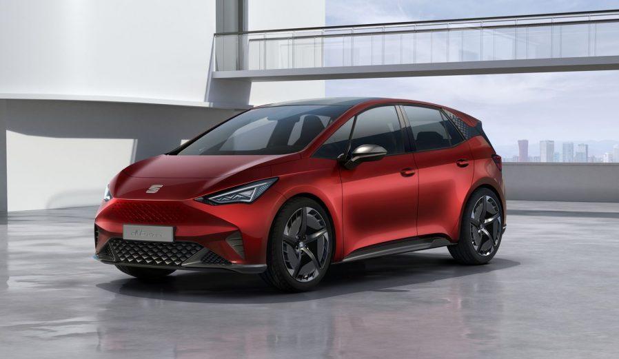 西雅特发布电动概念车el-Born 将于日内瓦车展亮相