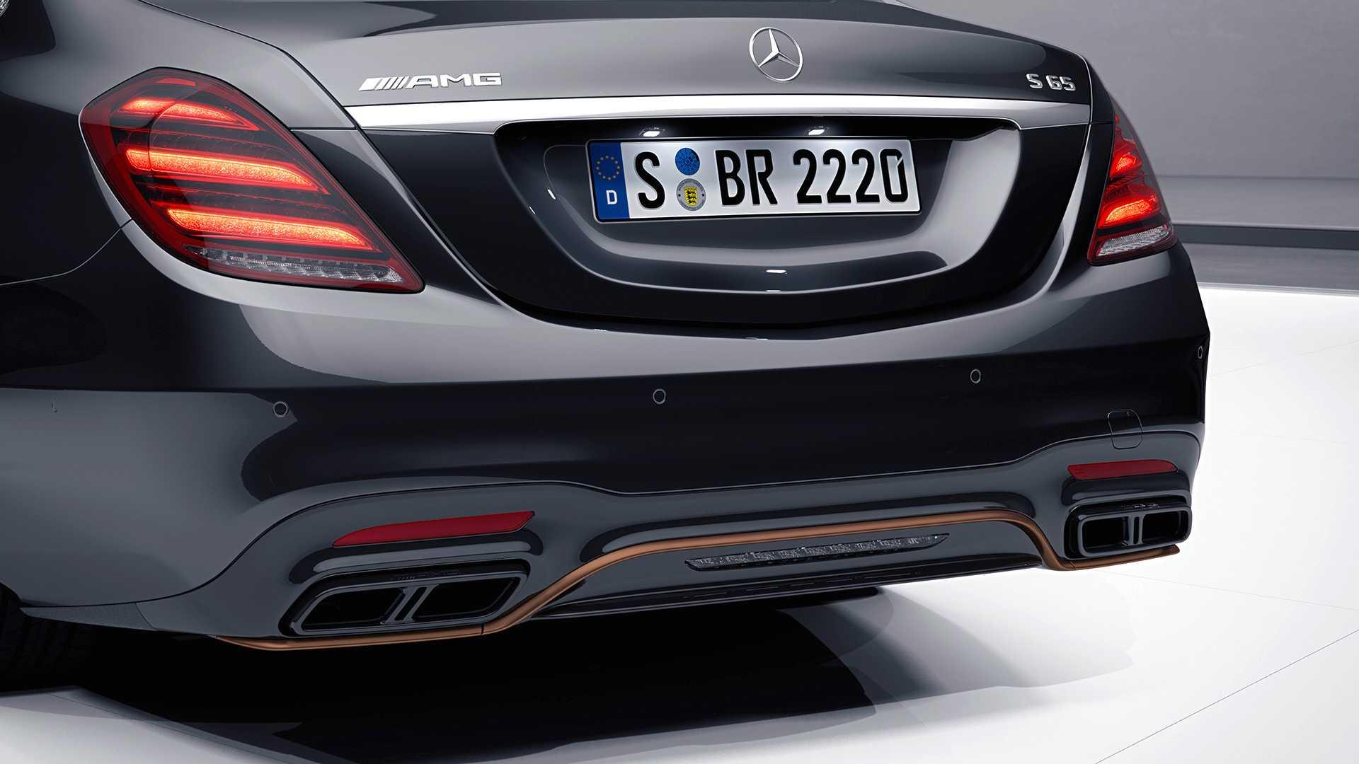 2019日内瓦车展梅赛德斯-AMG S 65成V12最后绝唱