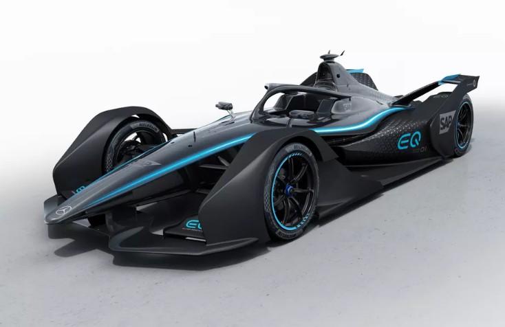 将参加FE电动方程式 梅赛德斯-奔驰EQ Silver Arrow 01赛车发布