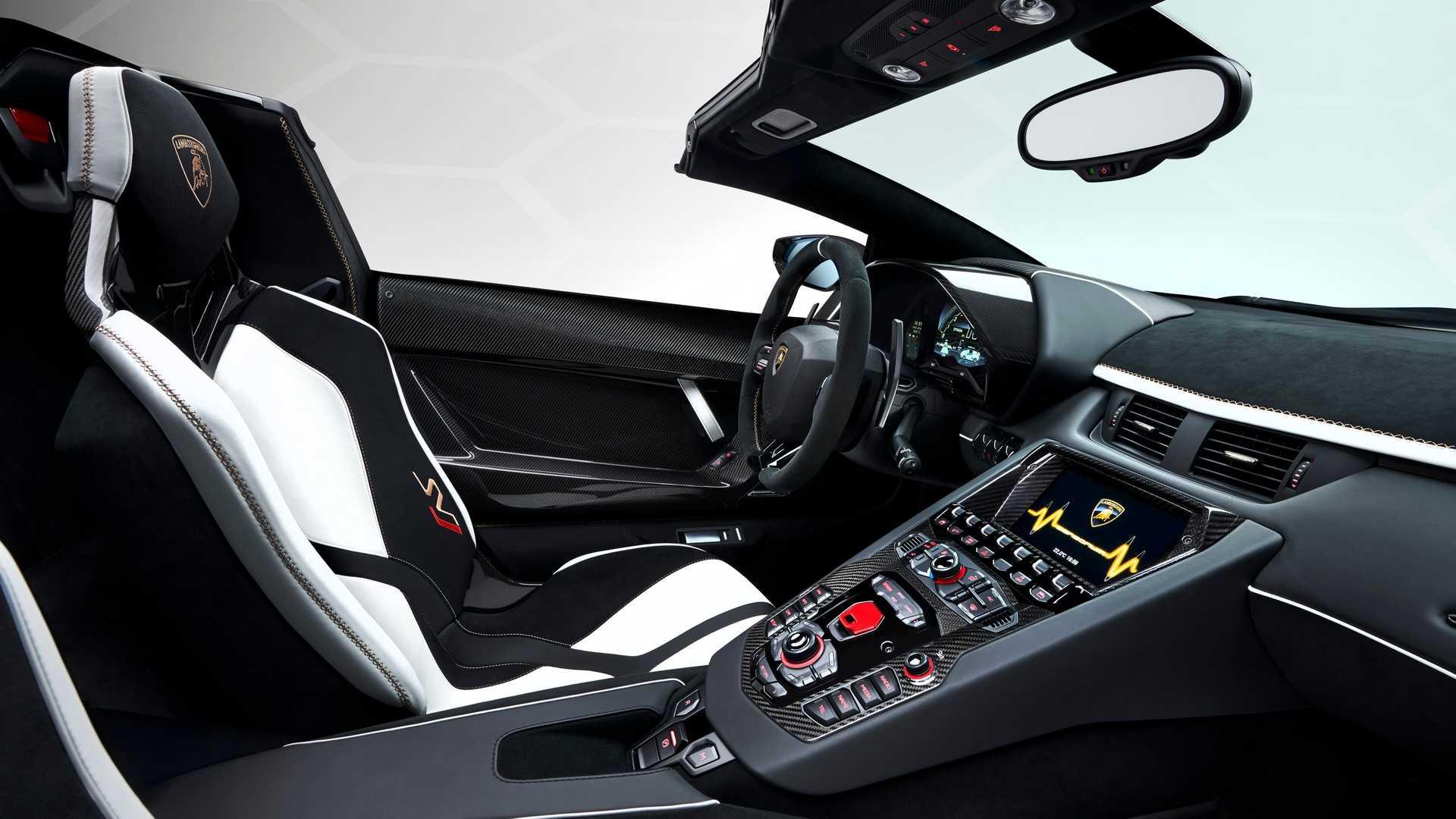 2019日内瓦车展兰博基尼Aventador SVJ敞篷版发布