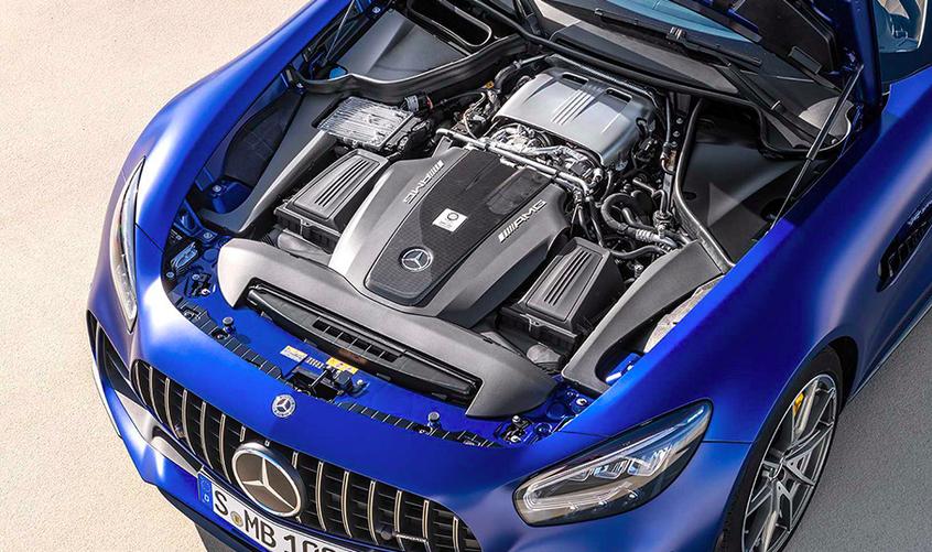 帅气的外表更拉风 AMG GT R Roadster官图发布