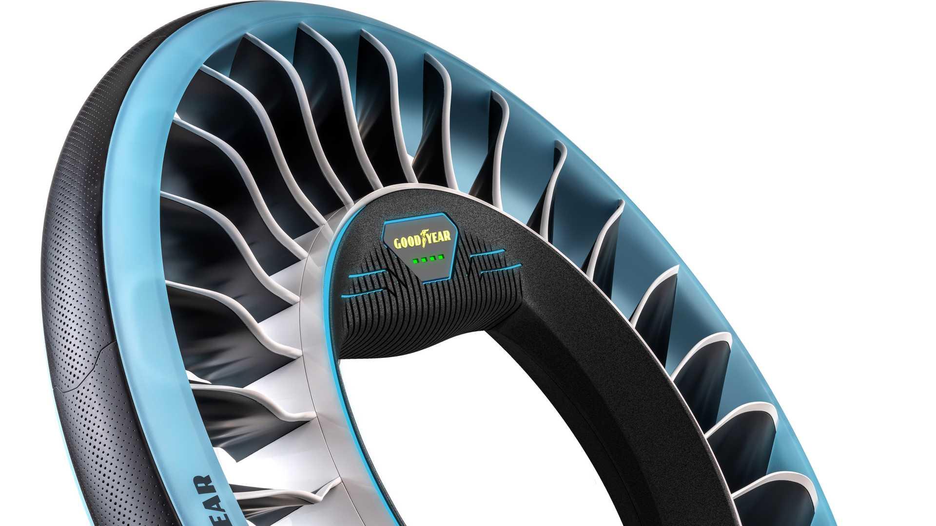 空中飞行推进器 固特异发布AERO概念轮胎
