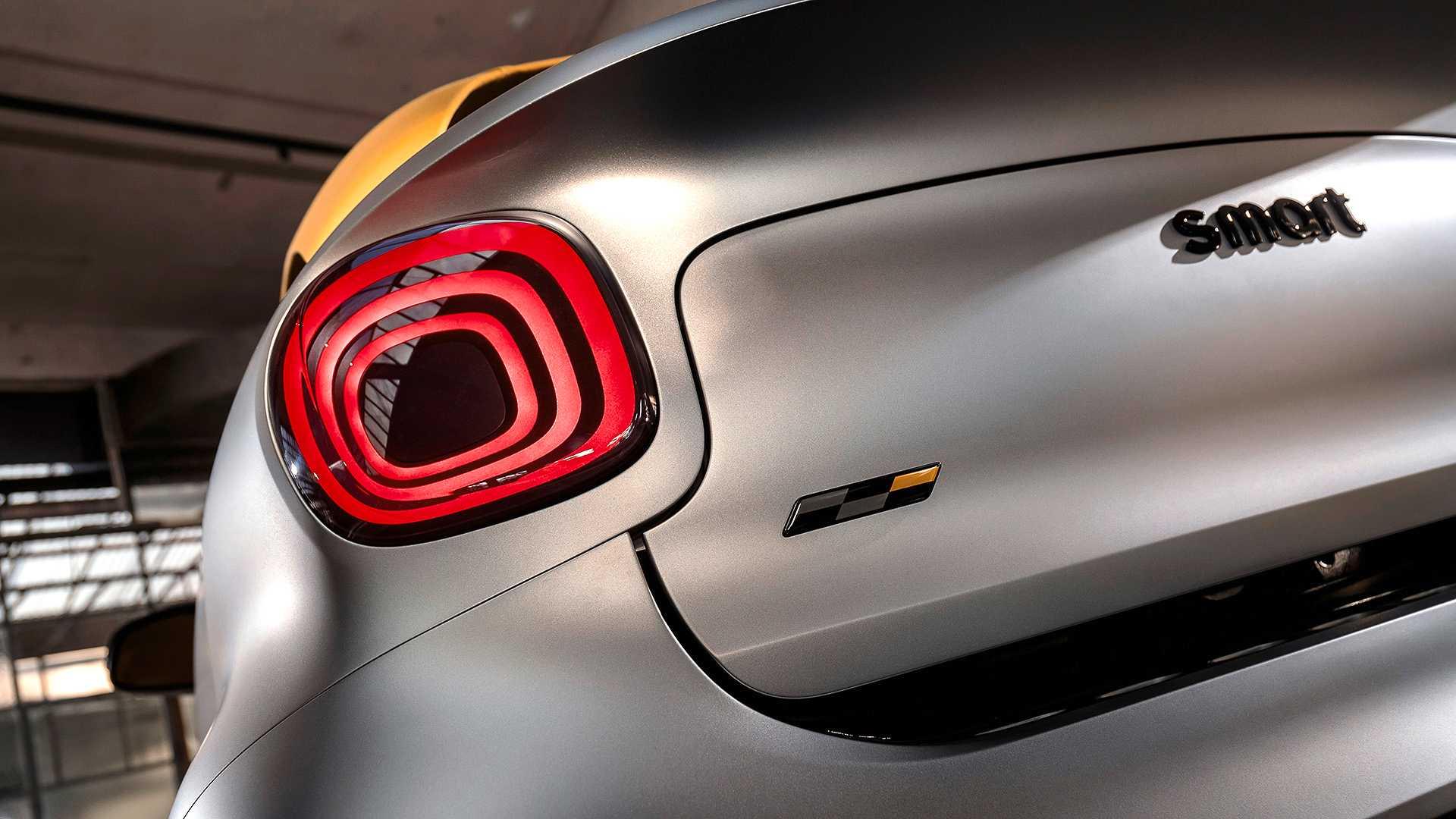 2019日内瓦车展奔驰发布smart forease+概念车