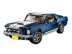 售1199元 1967年福特Mustang乐高模型发布