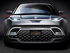 竞争对手锁定特斯拉Model Y Fisker发布电动SUV预告图