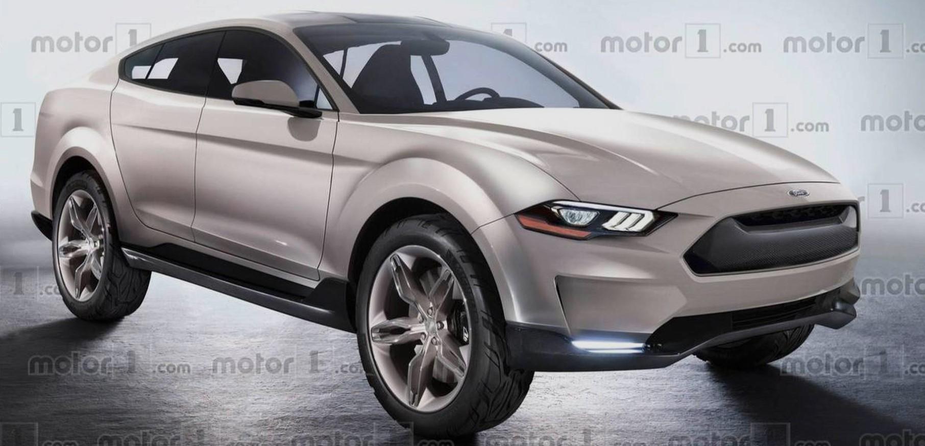 对标特斯拉Model Y 福特首款纯电动SUV Mustang-Esque将在墨西哥生产
