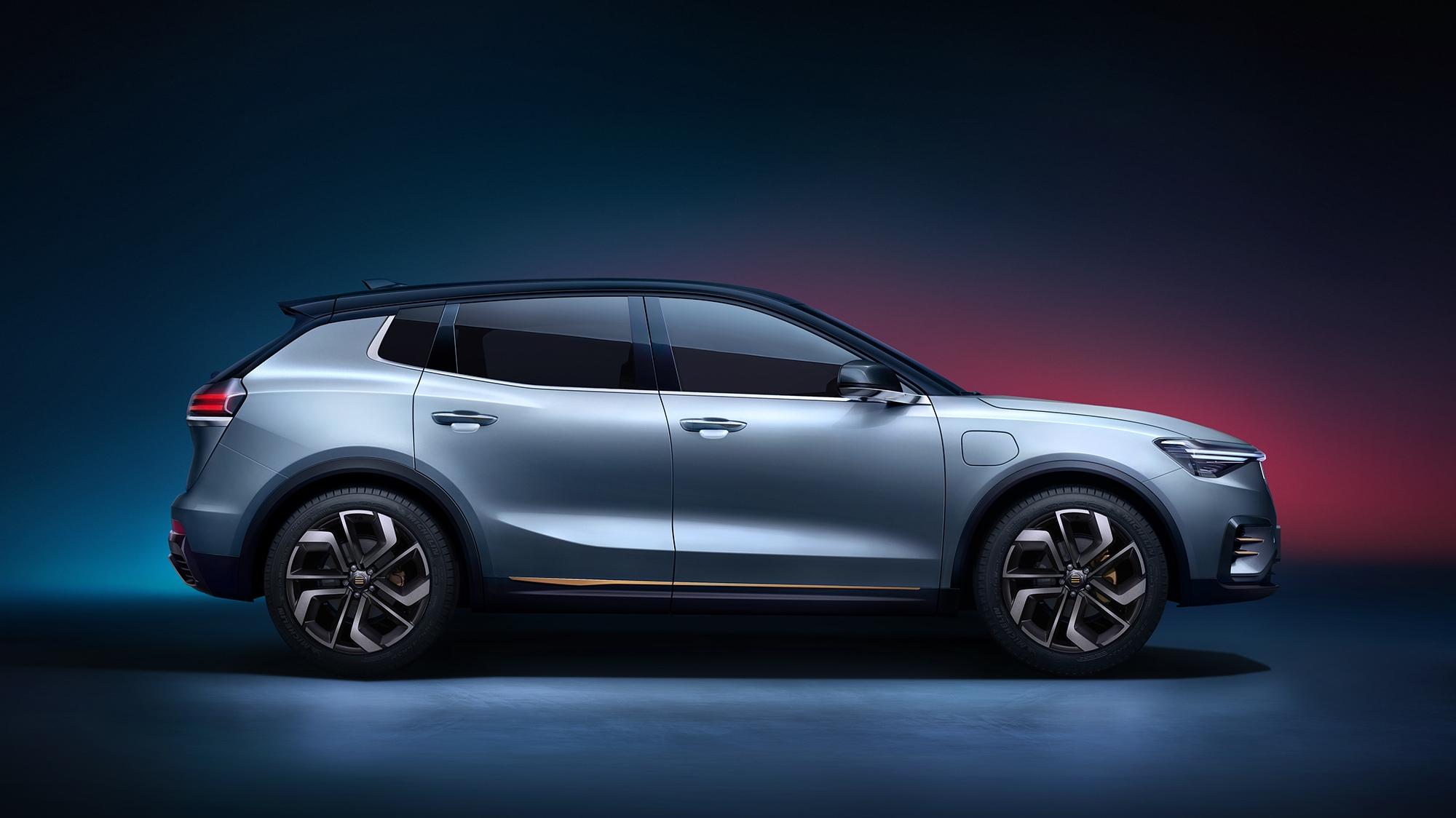天际ME7预售在即 智能电动汽车新三强将诞生