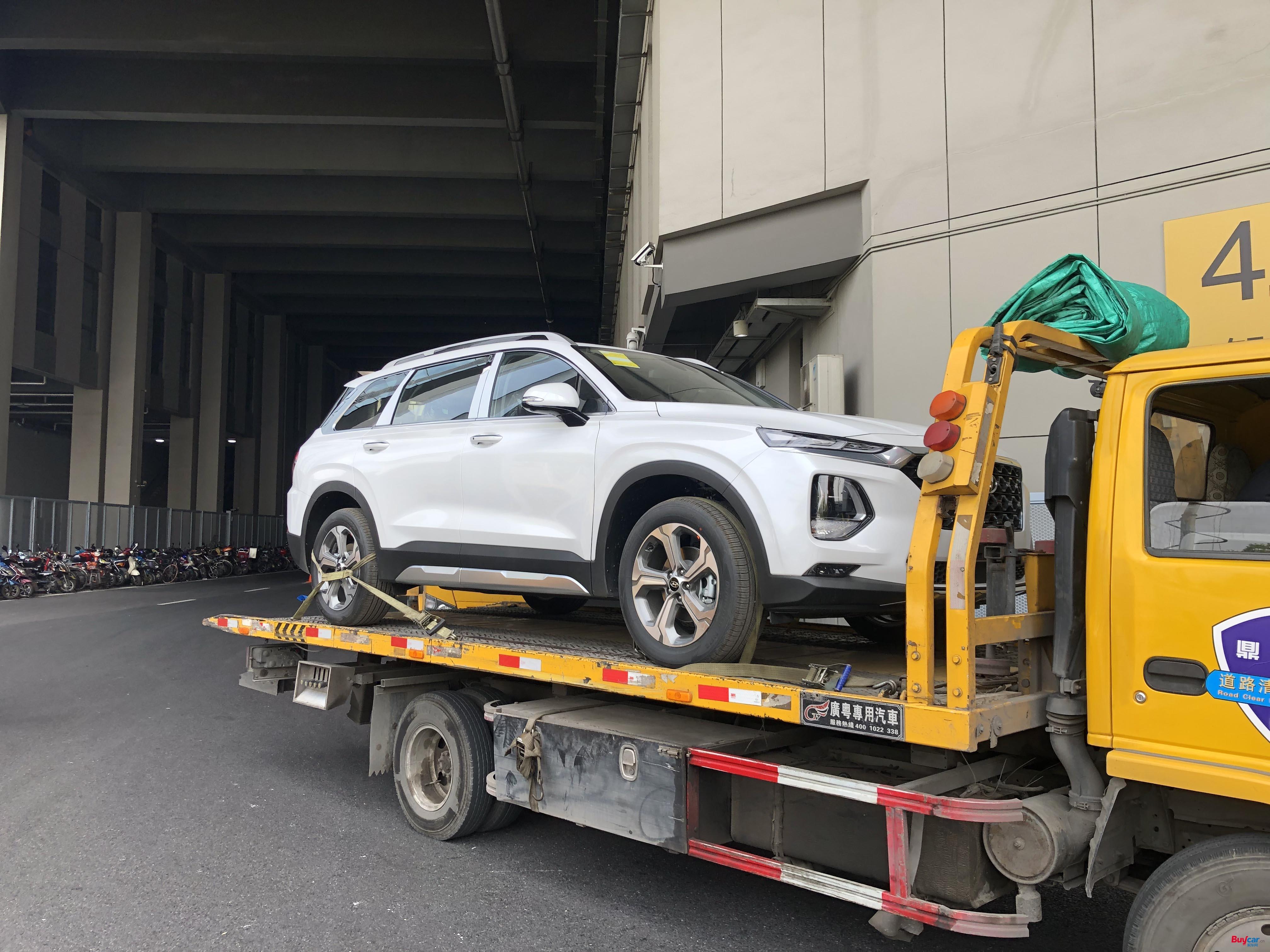 2019上海车展探馆 | 将于今晚上市 北京现代第四代胜达抵达车展