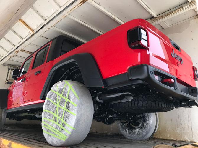 2019上海车展探馆最值得期待的中型皮卡 Jeep Gladiator抵达车展